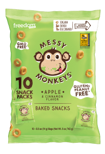 Messy Monkeys Apple Flavor