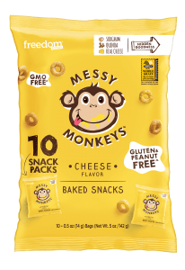 Messy Monkeys Cheese Flavor